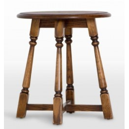 3177 Wood Bros Old Charm Round Lamp Table