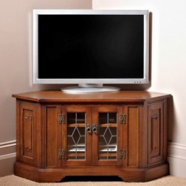 2633 Wood Bros Old Charm Corner TV Video Unit