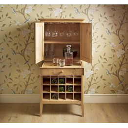 Old Charm Ludlow LD2945 - Drinks Cabinet - END OF LINE CLEARANCE PRICES - EVERYTHING MUST GO !
