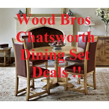 Chatsworth Dining Sets - Configure your perfect Wood Bros Dining Suite !!
