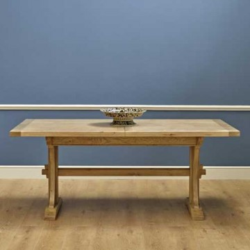 3064 Wood Bros Old Charm Lichfield 6ft Extending Dining Table