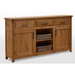 Wood Bros Frame FR0004 3 Door Sideboard - Old Charm