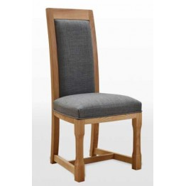 Wood Bros Frame FR2899 Dining Chair in Fabric - Old Charm