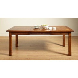2979 Wood Bros Old Charm Priory Extending Dining Table
