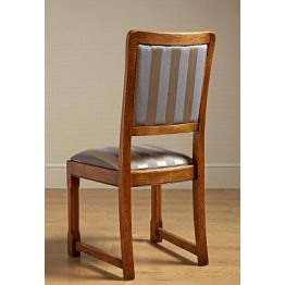 2980 Wood Bros Old Charm Priory Dining Chair in Fabric