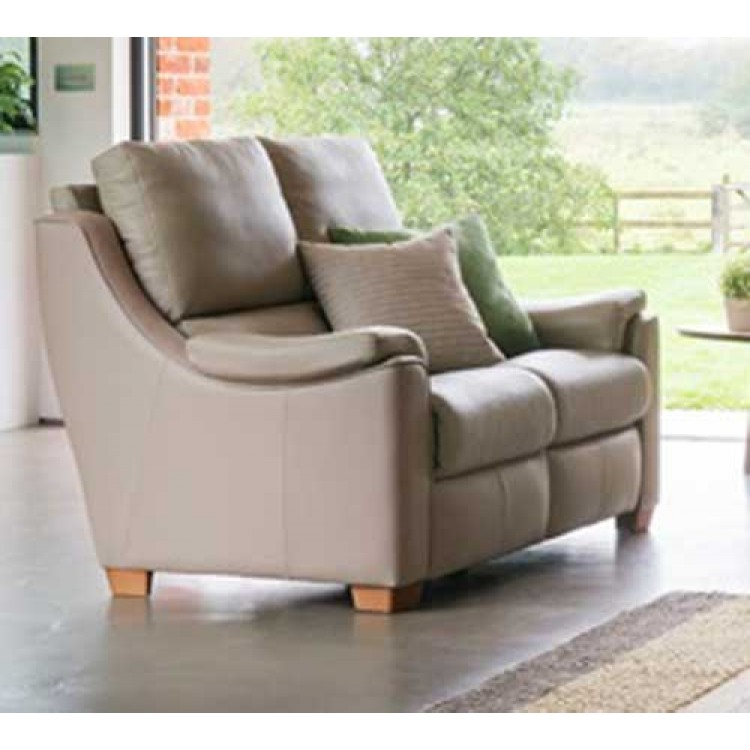 Parker Knoll Albany Double Manual Recliner 2 Seater Sofa In Fabric Or Leather
