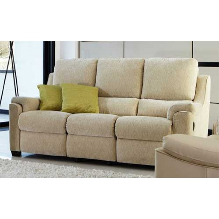 Parker knoll albany 3 seater sofa in fabric or leather for Furniture 4 u