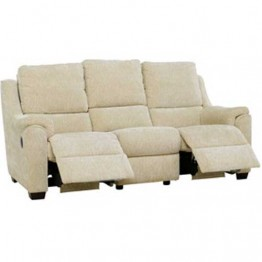Parker Knoll Albany Double Manual Recliner 3 Seater Sofa
