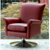 Parker Knoll Bradley Swivel Chair with Chrome Base