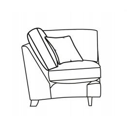 Parker Knoll Devonshire - Modular Items - Corner Section - Formal Back