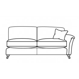 Parker Knoll Devonshire - Modular Items - RHF or LHF Grand Arm End  - Formal Back