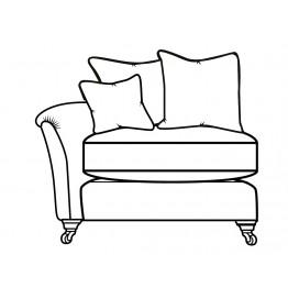 Parker Knoll Devonshire - Modular Items - RHF or LHF Single Seat Arm End  - Pillow Back