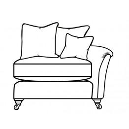 Parker Knoll Devonshire - Modular Items - RHF or LHF Single Seat Arm End  - Formal Back