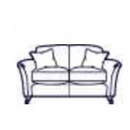 Parker Knoll Devonshire 2 Seater Sofa - Formal Back