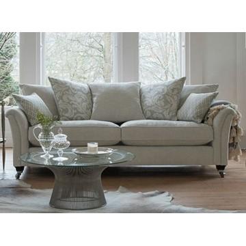 Parker Knoll Devonshire Large 2 Seater Sofa - Pillow Back - FREE FOOTSTOOL OFFER UNTIL 1st JUNE 2021 - CALL US FOR DETAILS.