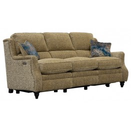 Parker Knoll Newbury 3 Seater Sofa with Power Footrests
