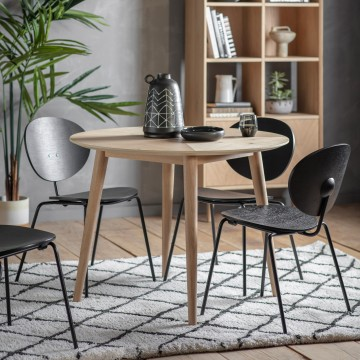 Forino Oak Round Dining Table