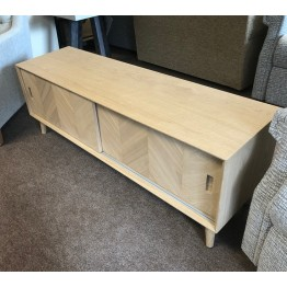 Forino Oak Media & TV Cabinet