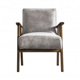 Harrington Accent Fabric Chair - Two Colours Available