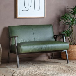 Harrington Leather Sofa - Two Colours Available