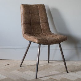 Forino Oak Laurels Dining Chairs  - Two Colours Available