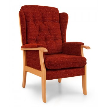 Charlbury High Back Chair - Standard Seat High
