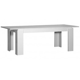 Sciae Furniture Floyd Dining Table - 36 White - No 13 Rectangular table with a leaf