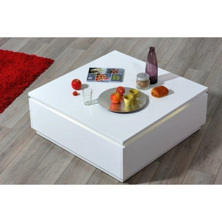 Table Basse 3 Plateaux Fly : Sciae furniture electra coffee table white n
