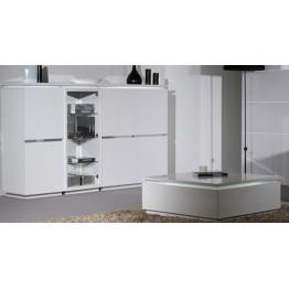 Sciae Furniture Electra 2 Door Storage Unit - 36 White - No 43 Storage ElÈment  2 Doors with lights