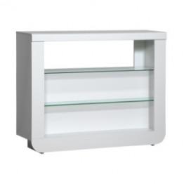 Sciae Furniture Floyd Bar - 36 White - No 16 Bar