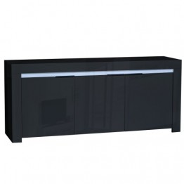Sciae Furniture - Galaxy 2 38 - No14 Sideboard with 3 Doors and Red/Green/Blue LEDS