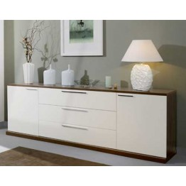 Sciae Furniture Medley Composition 4 - Made in white and oak shades OR white and walnut shades - Medley Sideboard
