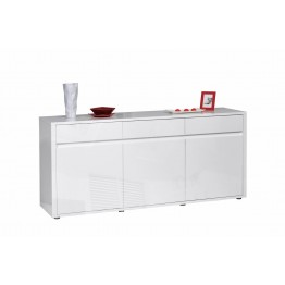 Sciae Furniture - Urbana 36 - No14 Sideboard with 3 Drawers - White