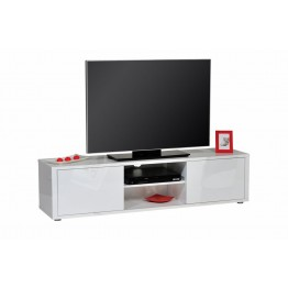 Sciae Furniture - Urbana 36 - No6 HiFi TV Bench with 2 Doors - White