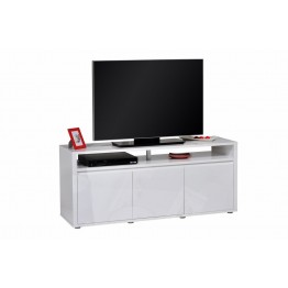 Sciae Furniture - Urbana 36 - No38 HiFi TV Bench with 3 Doors - White