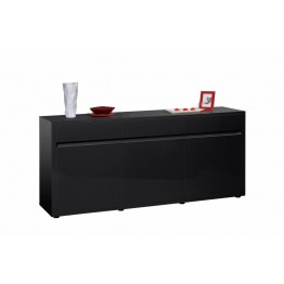 Sciae Furniture - Urbana 38 - No14 Sideboard with 3 Drawers - Black