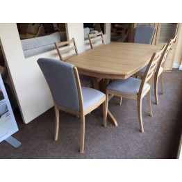 9015 Sutcliffe Campaign Extending Dining Table
