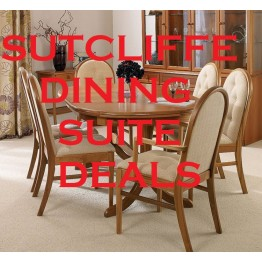 Sutcliffe Dining Set Deal - Configure your perfect dining suite!- Trafalgar/Hampton/Windsor - Get one chair for free!!