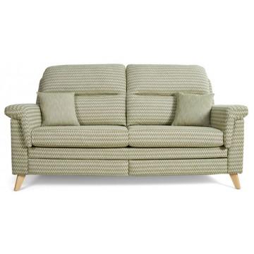 Vale Opal High Back 3 Seater Sofa