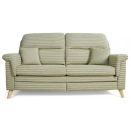 Vale Opal High Back 3 Seater Sofa
