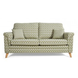 Vale Opal Low Back 3 Seater Sofa