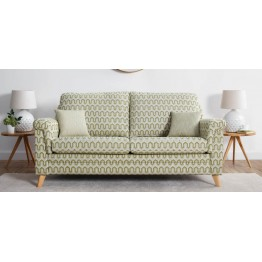 Vale Opal Low Back Power Reclining 3 Seater Sofa