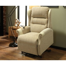Vale Harmony Single Motor Lift & Rise Recliner - Compact Size