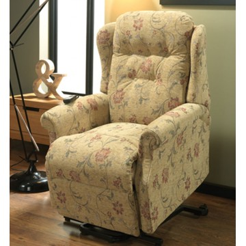 Vale Symphony Single Motor Lift & Rise Recliner - Compact Size