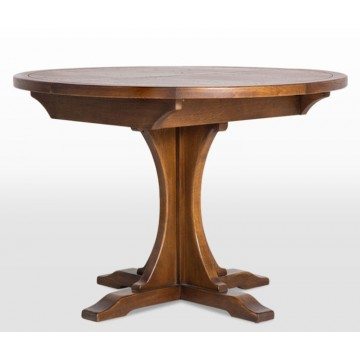 3213 Wood Bros Old Charm Lichfield Round Extending Dining Table