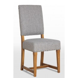 3214 Wood Bros Old Charm Dining Chair in Fabric