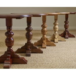 2428 Wood Bros Old Charm Wine Table