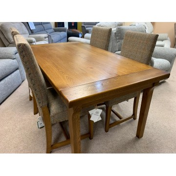 SHOWROOM CLEARANCE ITEM - Wood Bros Chatsworth Dining Suite