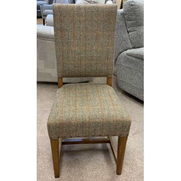 Old Charm Chatsworth OC3214 Dining Chair in Leather