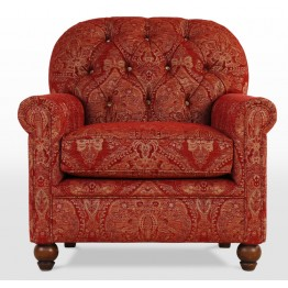 Old Charm Gunthorpe Armchair - GUN140 - Wood Bros